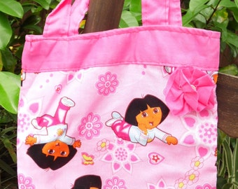 Childrens Totes with Flowers