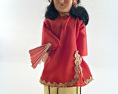 Vintage Doll, Norma Originals,  A China Doll Original, a Doll with an Educational Story