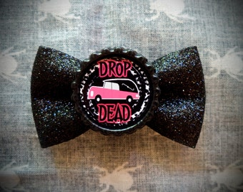 Drop Dead Hair Bow