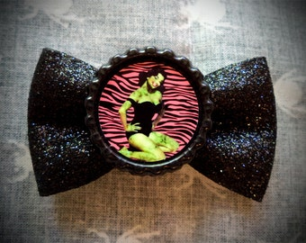 Zombie Pinup Hair Bow