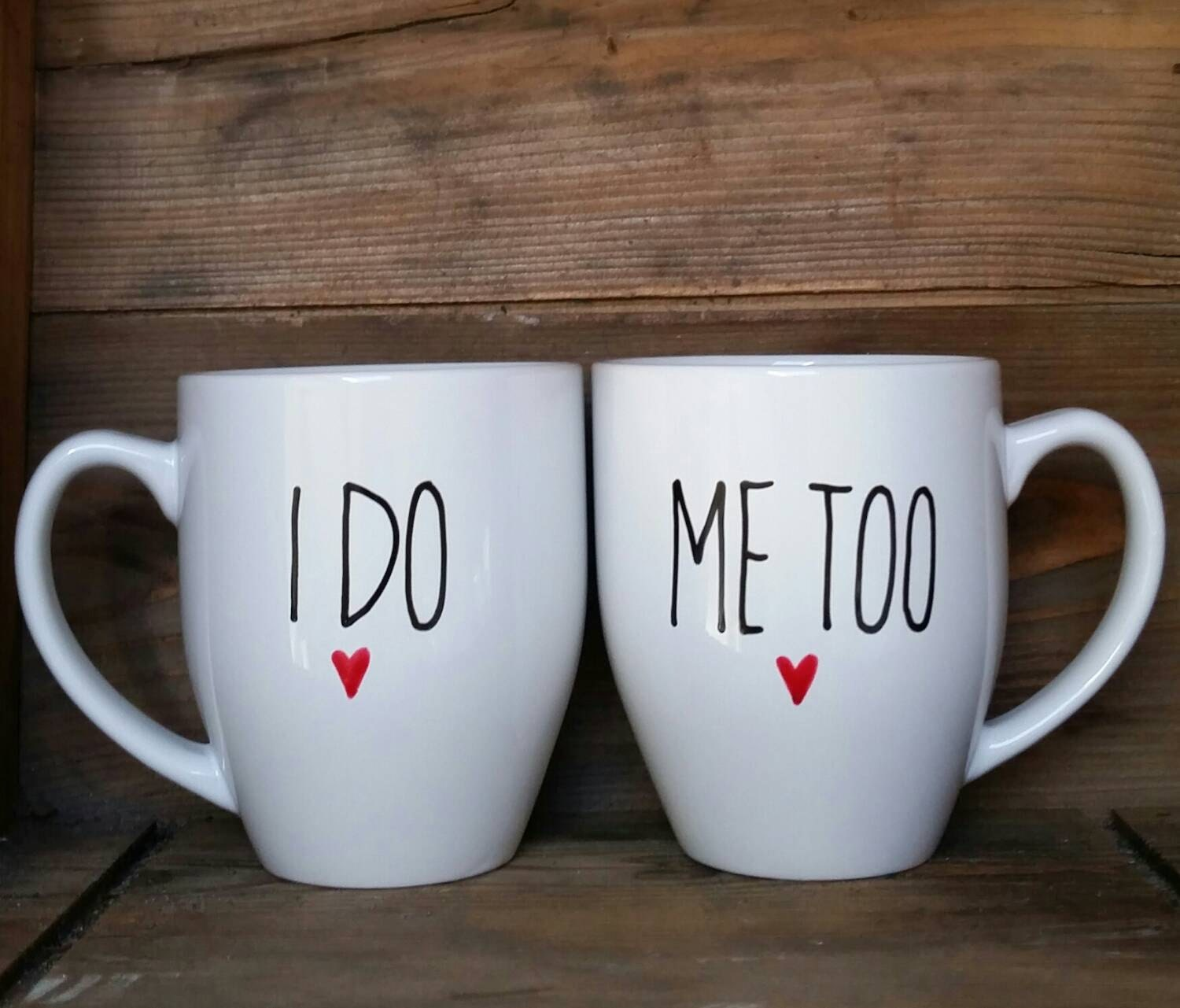 his and hers mugs bridal mugs his and her mugs wedding. Black Bedroom Furniture Sets. Home Design Ideas