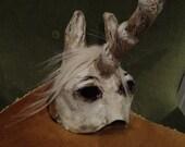 Halloween mask Unicorn mask unicorn costume paper mask horse mask