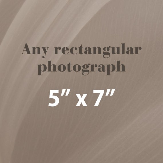 Any 5x7 Photographic Print, Rectangular
