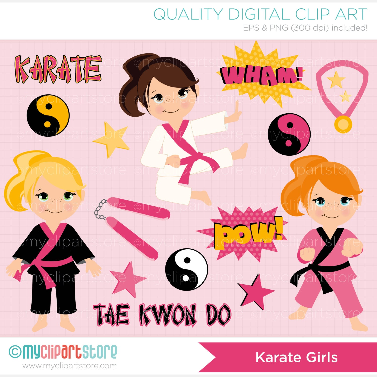 karate girl clipart wwwimgkidcom the image kid has it