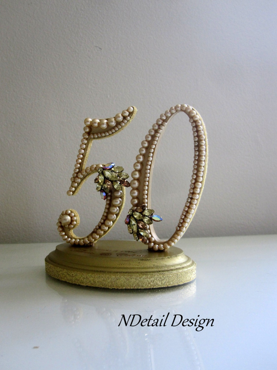 50th anniversary cake toppers cake topper 50th golden anniversary birthday gold by 1133