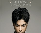 "Prince ""Montreux Jazz Festival"" Stand-Up Display"