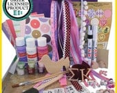 Sigma Kappa Supply Sack:  Everything you need to create heartfelt Sister gifts Licensed