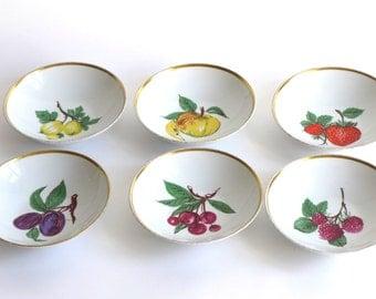 Vintage porcelain bowls, set of 6