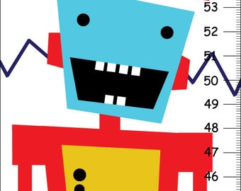 Personalized Robot GROWTH Chart