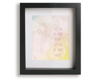 Babylon inspired song lyrics art print - Music Lyric Art Print, wedding gift idea, home decor, typography, wall decor
