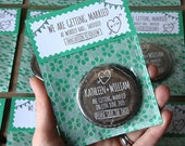 WOODLAND Save the Date 58mm Magnet with Handmade Packaging x 40