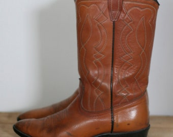 vintage womens cowboy boots size 4 by acme