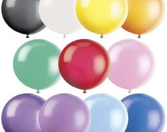 "5 36"" Giant  balloons- any colors jumbo balloons"