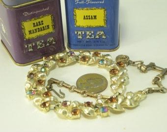 Gold and Topaz Vine Choker