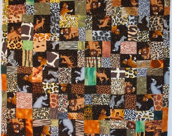 No. 24, Fractured Four-Patch (Copyrighted),  Wild Things Quilt