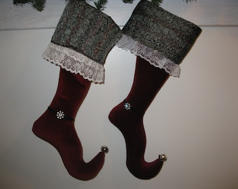 Victorian Christmas stocking