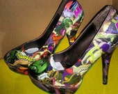 On Sale She Hulk Comic Shoes