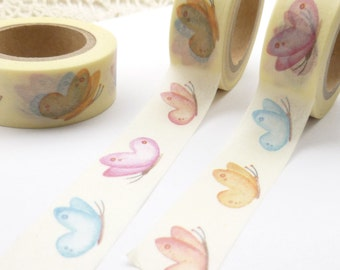 Colorful Butterfly  Washi Tape - J845