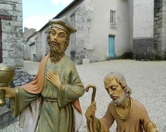 2 Figurines religious Santon
