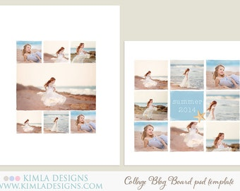 Collage & Blog Board - PSD Templates