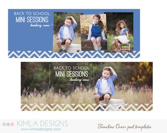 Back to School Timeline Covers for Photographers