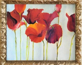 Poppies Acrylic on Canvas