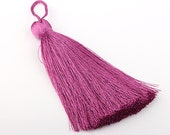 Mulberry, Large and Thick Silk Tassel- Jewelry Supplies  // TAS-020