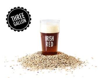 Irish Red - 3 Gallon Beer Making Recipe Refill Kit - Brew in a Bag