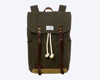No. 2 - Backpack, Olive