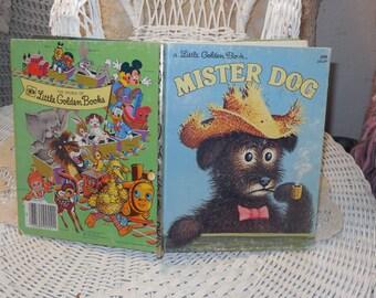 1980 Little Golden Book Mister Dog by Margaret Wise Brown /  Garth Williams (Illustrator)