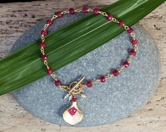 Elephant Charm Bracelet Gold Elelphant By Alisonstorryjewelry