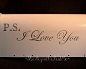 DECALS - PS I Love You - 1 set