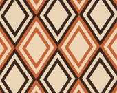 Orange  Pillow Cover- Orange/ Sweet Potato Diamond Pillow Cover  - Modern Decorative Accent Pillow ..