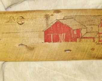 Red Barn Woodburning
