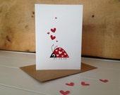 Ladybird Love Bug Card