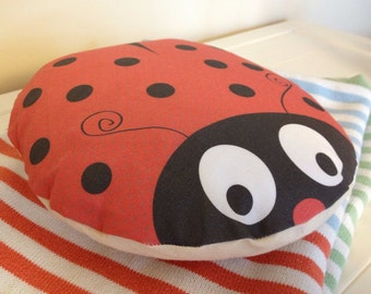 Ladybird Cushion