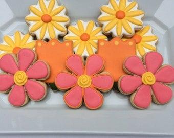 Spring Flower Cookie Assortment