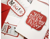 Multipack of 5 Greeting Cards With Hand Lettering by Tribambuka