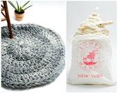 DIY Kit - Crochet Aspen Rug 32'' (81 cm) - Round Crochet Rug