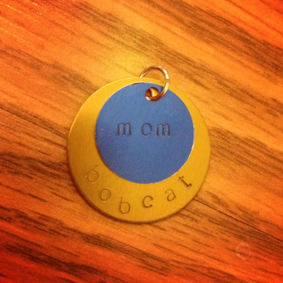 Your Team Hand Stamped Aluminum Necklace - customizable!