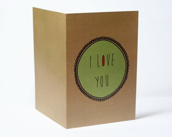 "A ""I love you more than I lovecigarettes"" or ""I love cigarettes more than I love you"" card"