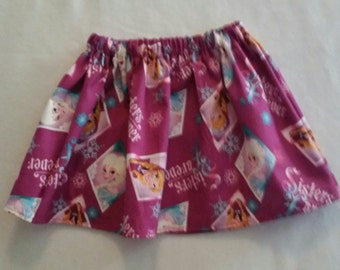 Frozen Sisters Forever Skirt 18/24m Ready to Ship