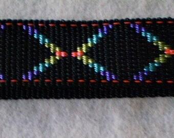 Rainbow X Keychain Wristlet