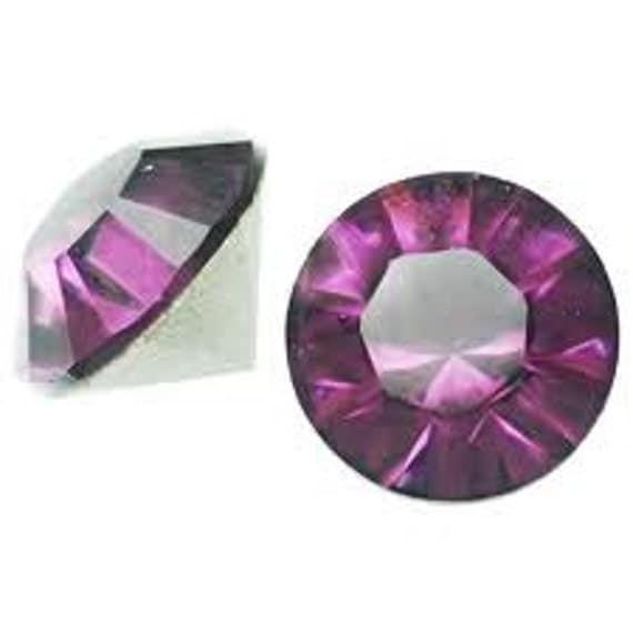 24 pieces Swarovski Crystal Amethyst purple February 4mm pp31 Chaton pointed back gemstone jewels foiled DIY 1028 Rhinestone Beads