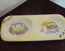 unique soap dish related items etsy