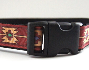 Native Design Dog Collar Adjustable Sizes (M, L, XL)