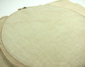 32 ct Cross Stitch Linen Fabric - Premium Weeks Dye Works Hand Dyed Linen for Cross Stitch, Embroidery - Parchment