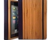 Bamboo iPad mini 2 Bookcase, Bamboo Wood iPad Mini 2 Case, Wood iPad Mini Retina Bookcase - Primovisto