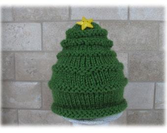 Hat-Pine Tree Hat-Pine Tree-Hat for Newborn-Photo Prop Pine Tree Hat-Green Baby Hat-Hat for Baby