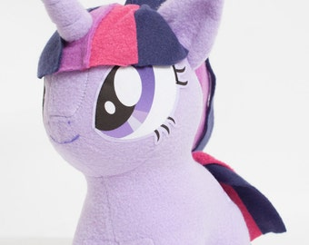 Chibi Twilight Sparkle MLP Hand-Made Custom Craft Plush